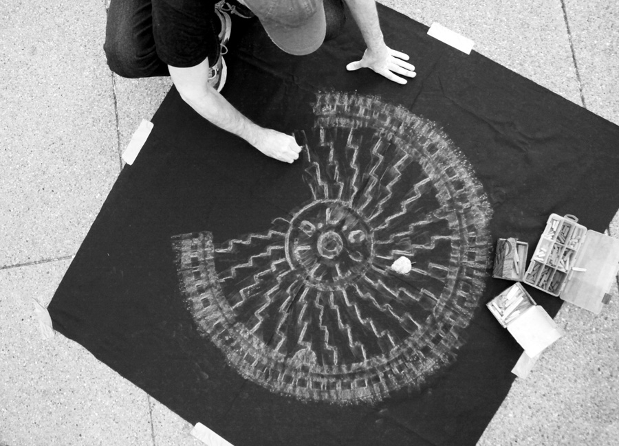 Art by Dwight Pittsburgh Manhole Cover Rubbing